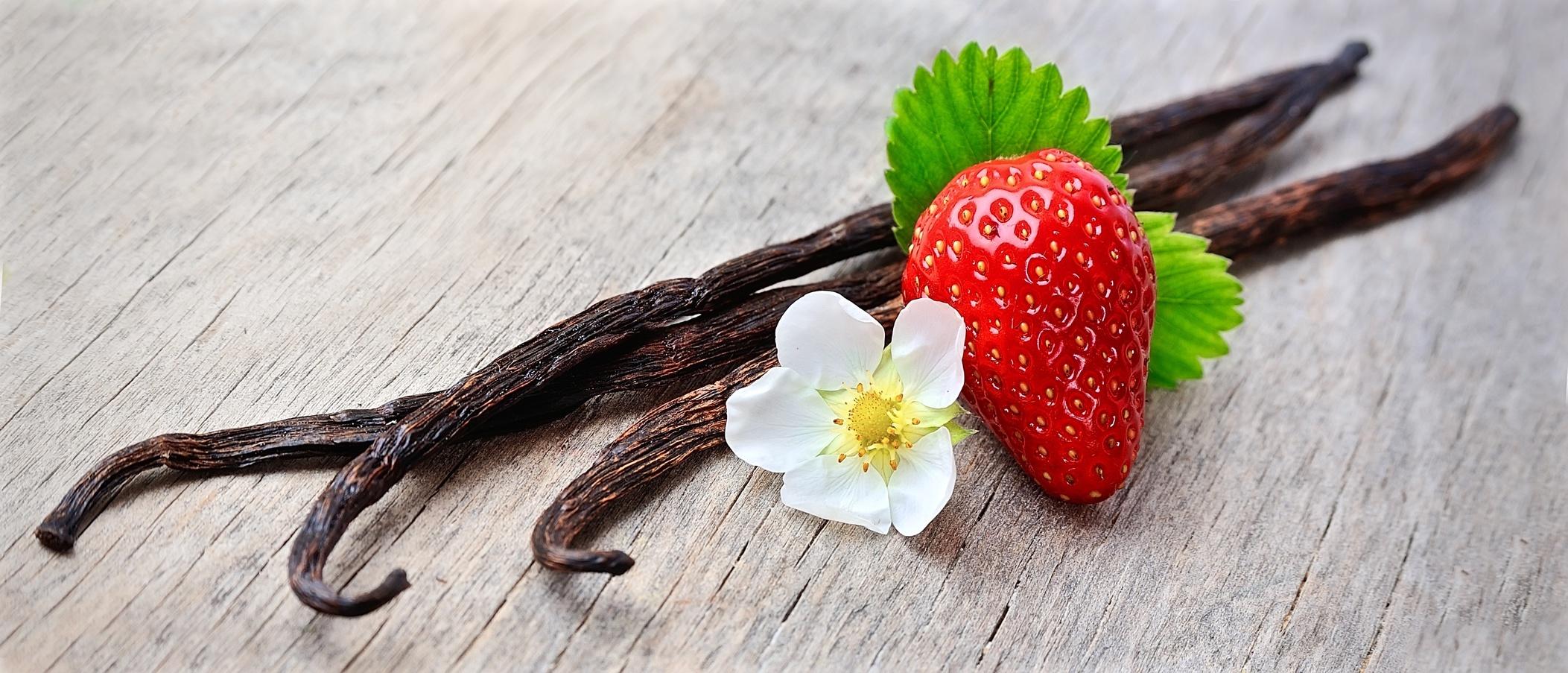 Vanille und Erdbeere Raumduft